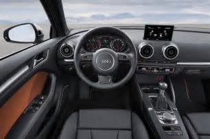 Audi A 3 Interior 2015 Audi A3 Sedan Priced At 30 795 A3 Cabriolet Coming