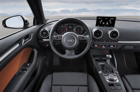 Audi A3 Interior by 2015 Audi A3 Sedan Priced At 30 795 A3 Cabriolet Coming
