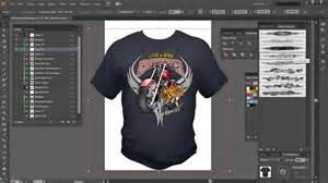 T Shirt Design Template Software by Illustrator Brushes High End Tshirt Design Tutorial