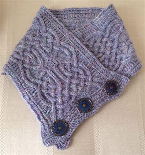 knitting pattern crossover scarf st patrick s day knitting patterns in the loop knitting