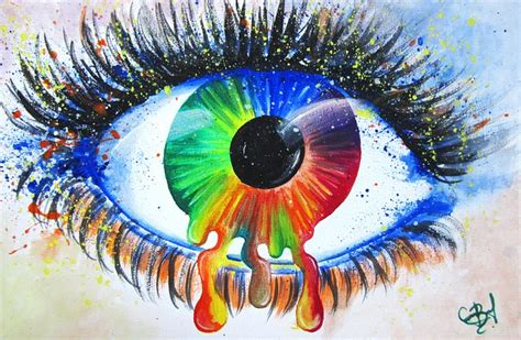 imagenes figurativas free photo painting watercolour eye iris free image