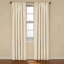 Ivory Curtains Eclipse Kendall Blackout Ivory Curtain Panel 84 In