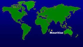 Mauritius On World Map by Maps World Map Mauritius