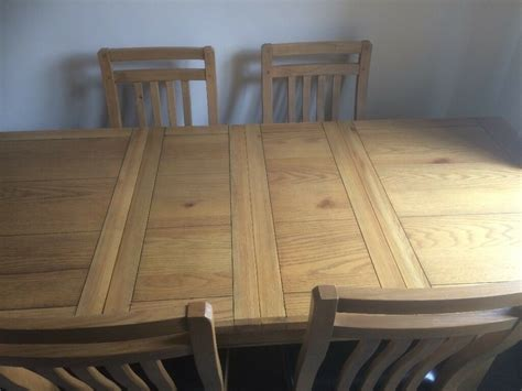 harveys dining tables and chairs solid oak calais style harveys dining table and chairs