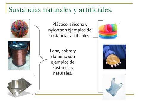imagenes de objetos naturales y artificiales presentaci 243 n sustancias