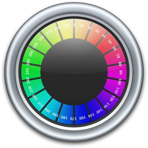 digital color meter color meter icon compass iconset mcdo design