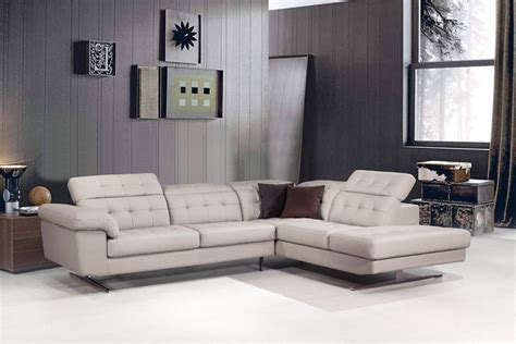 divani veneto divani casa veneto modern grey italian leather sectional sofa