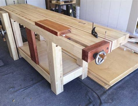 roubo bench split top roubo workbench by lbh lumberjocks com woodworking community