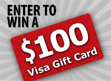 10 Visa Gift Card - enter to win a 100 visa gift card ends 10 07 14 blog giveaway directory