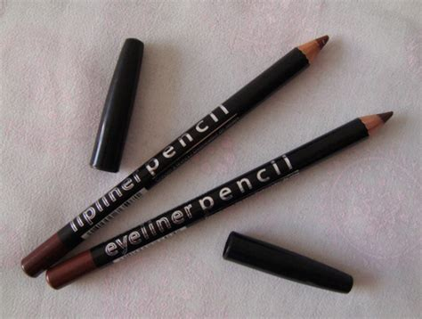 la colors eyeliner la colors lip liner pencil brown and eyeliner pencil brown
