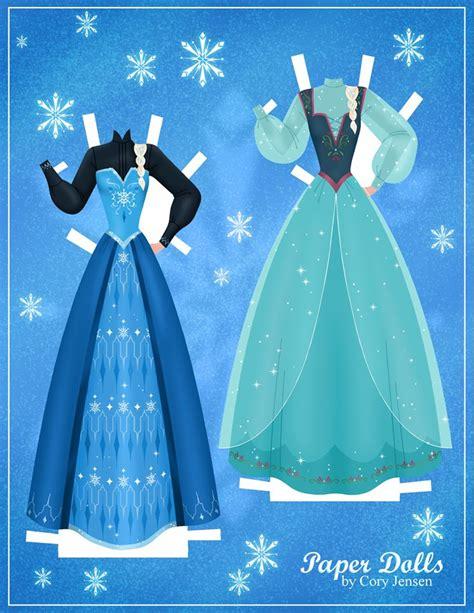 printable frozen dolls paper dolls frozen fan art 35071484 fanpop