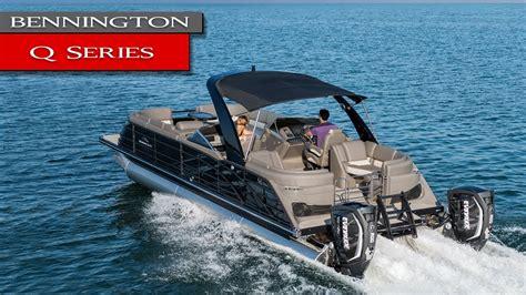 bennington qx boats new bennington q qx pontoon boats q25 q30 qx27 qx25