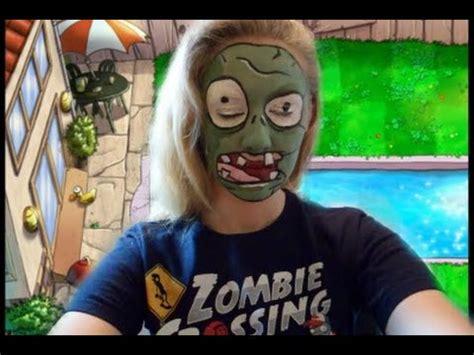 tutorial gamecih plant vs zombie plants vs zombies zombie makeup tutorial youtube