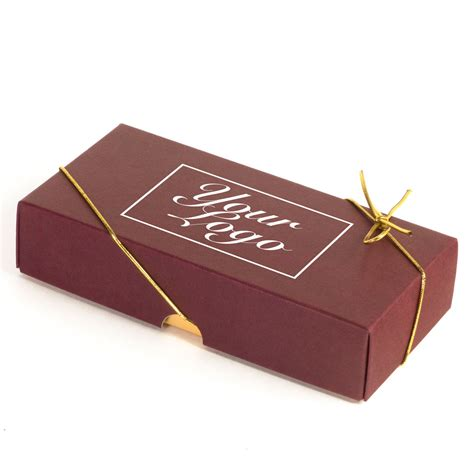 medium personalised chocolate gift box 8 truffles