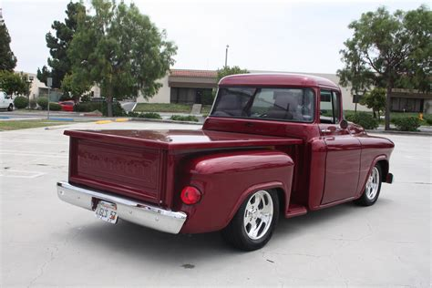 old fashioned street ls for sale 1957 chevy stepside pickup built by d p d p chevy d p