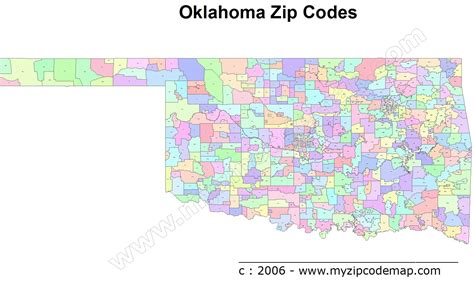 oklahoma city zip code map oklahoma zip code maps free oklahoma zip code maps