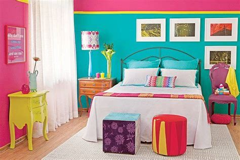 colorful bedroom curtains color blocking in the bedroom ideas inspiration