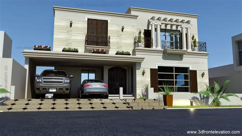 front home design news 1 kanal spanish house design plan dha lahore pakistan