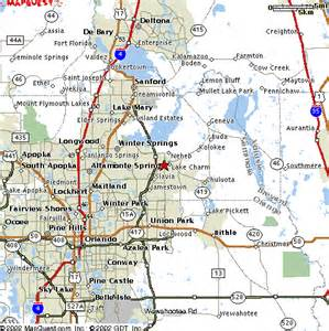 map of oviedo florida oviedo