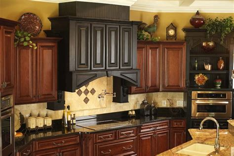 Cabinet Top Decor by Above Kitchen Cabinet Decor