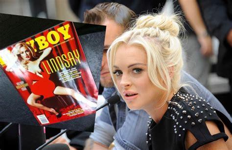 libro play boy 97 lindsay lohan s playboy cover s leaked photo la mega 97 9