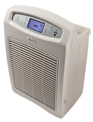 whirlpool 174 apr45130l whispure 300 cadr electronic air purifier with true hepa filter