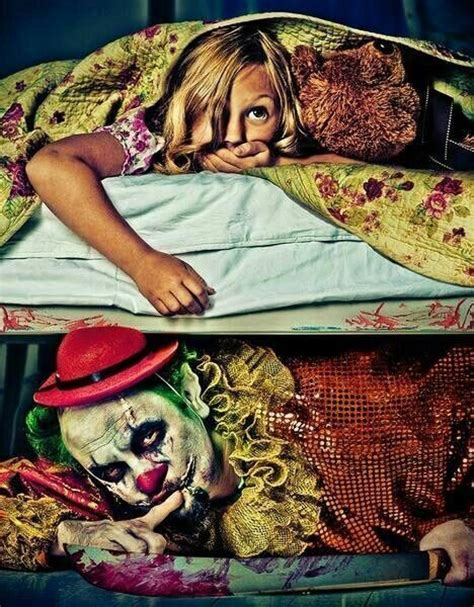 clown under bed pin by jill shope on clowns that are scary pinterest
