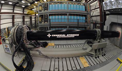 railgun capacitor bank us navy railgun prototype capacitor banks 3 stories and 3 banks general atomics is