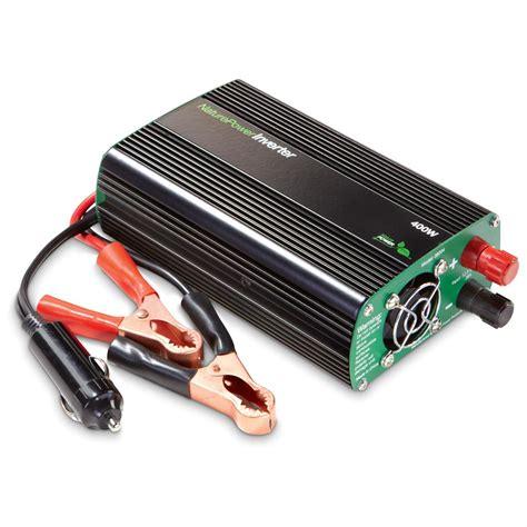Visero Power Inverter 400 Watt nature power modified sine wave inverter 400 watt 230184 power inverters at sportsman s guide