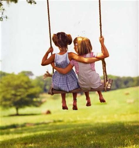 Bff S Little Girlfriends Swinging Together So Adorable