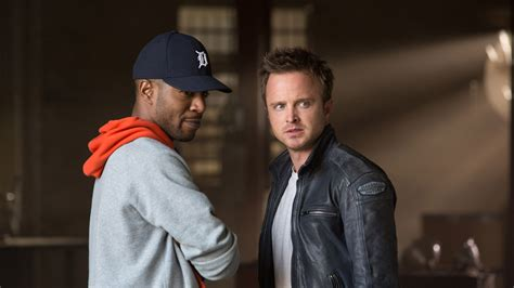 aaron paul video game need for speed aaron paul suits up in new stills