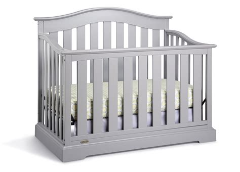 Graco Graco Westbrook Convertible Crib Pebble Gray Graco Convertible Crib Parts