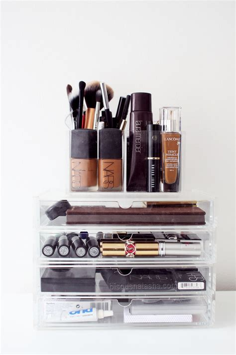 organize organise how to organize your makeup bisous natasha