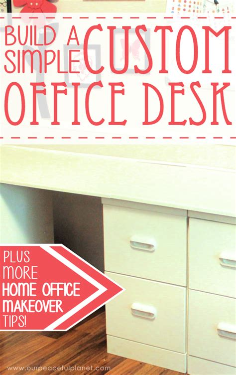 how to build a simple desk how to build a simple large surface home office desk