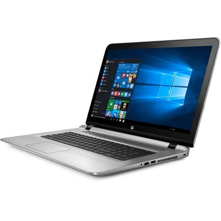 "hp envy 17 s030nr 17.3"" laptop, touch screen, windows 10"
