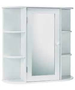 Bathroom Wall Cabinets Argos Buy Home Mirrored Bathroom Cabinet With Shelves White At
