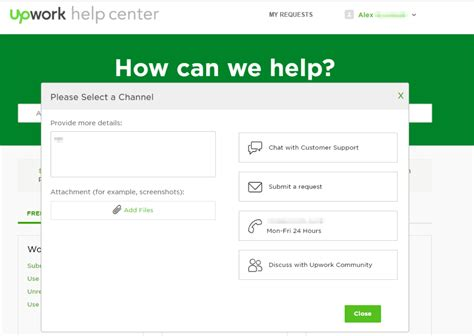 upwork help center can t submit a support ticket at upwork help page 2 upwork community