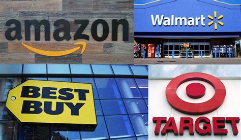 best buy rivals walmart best buy and target boost spending