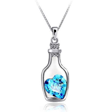 necklace pendants for jewelry in a bottle pendant necklace
