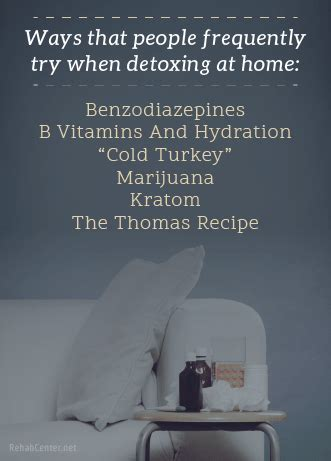 Detoxing At Home by Opiate Detox At Home Top 4 Remedies For An