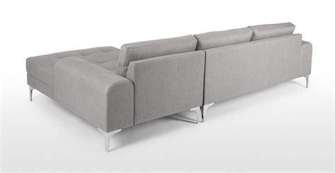 vittorio left facing corner sofa vittorio left facing corner sofa in pearl grey