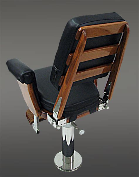 boat helm chairs for sale black helm chair with full exposed teak back