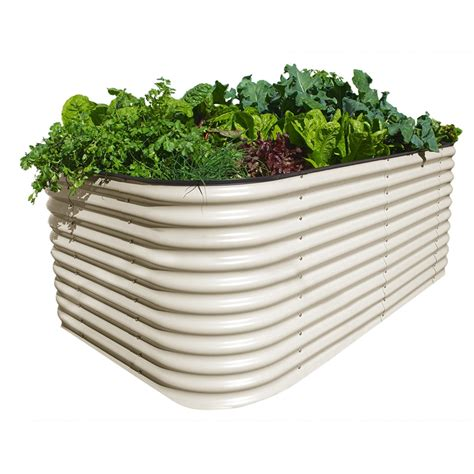 Raised Vegetable Garden Beds Bunnings Birdies 2200 X 1300 X 800mm Paperbark 6 In 1 Raised Garden