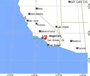 san dimas california ca 91773 profile population maps