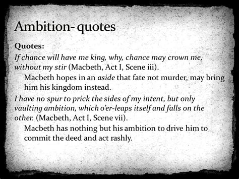 macbeth themes of ambition macbeth quotes about ambition the best quotes reviews