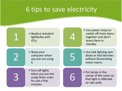 Safe Energy six effective tips to safe energy or electricity at your