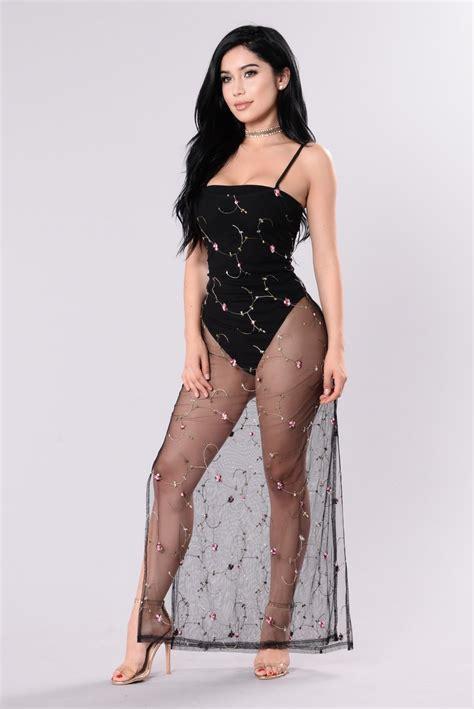 Zaneta Maxi womens dresses maxi mini cocktail denim club