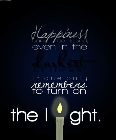 Turn On The Light by Dumbledore Quotes Turn On The Light Quotesgram