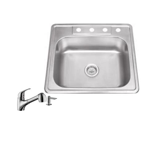 kitchen sink company ipt sink company drop in 25 in 4 hole stainless steel