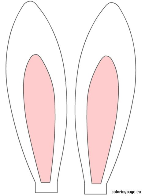 easter bunny ears clipart